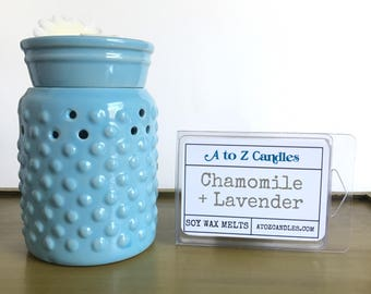 Chamomile Lavender Wax Melts, Relaxation Wax Melts, Aromatherapy Wax Melts, Chamomile Wax Melts, Lavender Wax Melts, Soy Wax Melts, Wax Tart