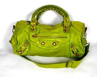 BALENCIAGA CITY BAG, Leather Bag, Handbag, Shoulderbag by Balenciaga Paris