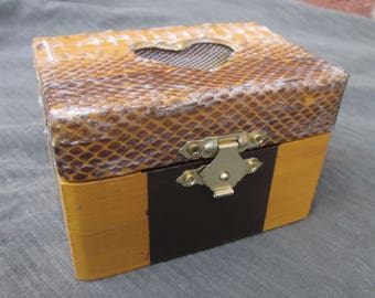 Snake Skin Keepsake Box