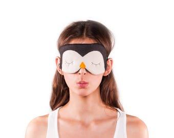 Penguin sleeping mask