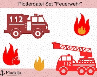 "Plotterfile set ""Fire Brigade"""