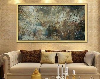 Abstract painting ,oil painting by kampon art gallery, Abstract oil painting