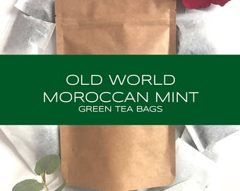 Old World Moroccan Mint Tea Bags