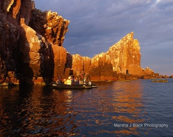 "Sea Decor, ""Sea of Cortez Islotes Morning Light"" Print, Sea of Cortez Prints, Sea  Wall Art, Ocean Decor, Sea Lovers Gift, Ocean Lovers Gift"