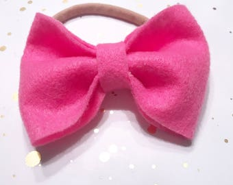Bubble Gum Pink Bow