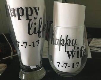 Happy life, Happy wife