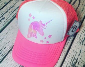 Unicorn, unicorn gift, unicorn fashion, unicorn trucker hat, unicorn hat, unicorn accessories, unicorn gift idea