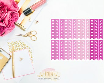 February Checklist Stickers | Planner Stickers designed for use with the Erin Condren Life Planner