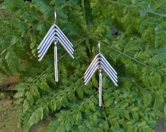 The Only Way Is Up - Arrow Earrings