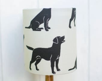 Dog lampshade, Dog lover lamp, Gift for dog owner, Labrador decor, Labrador gifts, Dog decor, Dog lover decor, Dog lover gift, Table lamps