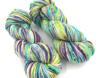 Hand dyed yarn - 8 Ply (DK) - Serendipity