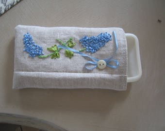 embroidered cover for IPHONE phone case