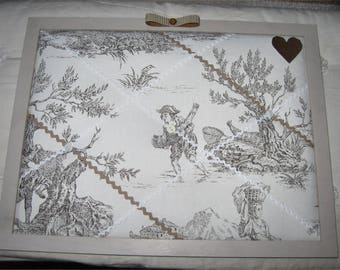 Memory French toile de jouy, birthday gift