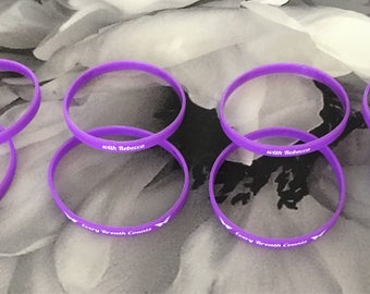 Every breath counts, bracelets for Rebecca