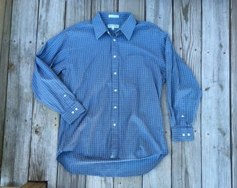 Monsieur by Givenchy Vintage Dress Shirt 90's 16 1/2 x 32-33