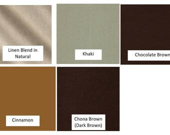 SOLIDS/BROWNS - Fabric Options for Your Applique