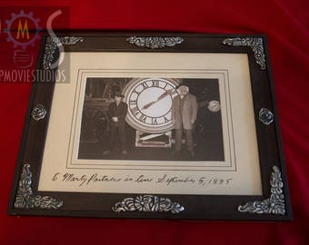 Back to the Future III - Doc & Martin photo frame replica prop