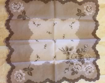 Vintage Unused Handkerchief.