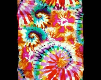 Back to School Fall Sale, Tie Dyed Rice bag, Cooling pad, Relief for cramps, hot flash relief, Birthday Gifts for Teens, Gifts under 25