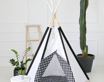 Tipi Kids Play Teepee Tent SALE Little NOMAD crosses/ playtent