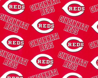 Cincinnati Reds Lampshade Cover, Matching Night Light, Matching Switchplates