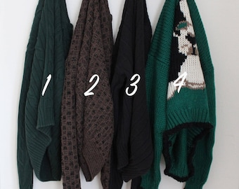 Vintage Oversized Sweaters | Choose Your Sweater