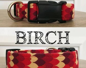 Birch - Abstract Fall Inspired Collar