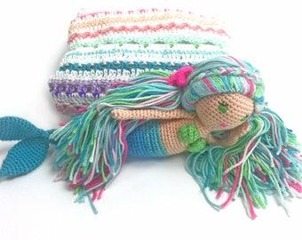 Blanket gift set - Marella mermaid - gift set - Mythical Whimsy
