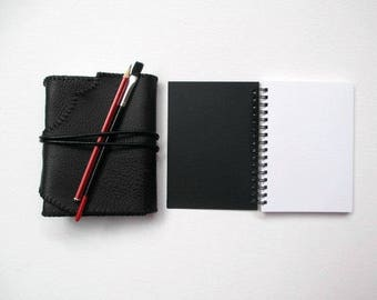 The Writers Way Refillable Leather Journal - 6.5 x 5 in