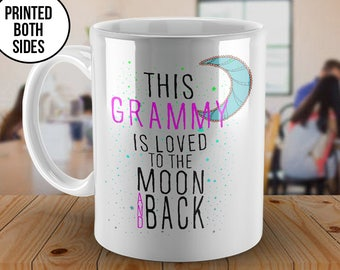 This Grammy is Loved Mug, To the Moon and Back, Grammy mug, Customized Grammy mug, Grammy coffee mug, Christmas Gift, Christmas, Grammy