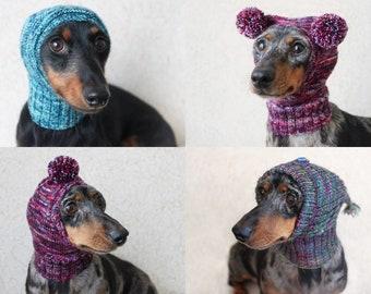 Knitting Pattern Dog Hat Dachshund Hat Pet Clothes Pet