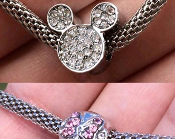 More Beautiful Mickey and Minnie European Charms!!