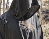 Heathen's House Coat Lucifer Sigil / Baphomet Pentagram