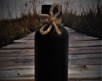 BLACK WATER, Hoodoo Ritual Oil, Potion, Ritual Water, Spell Oil, Wicca, Witchcraft, Pagan, Hoodoo 2 oz