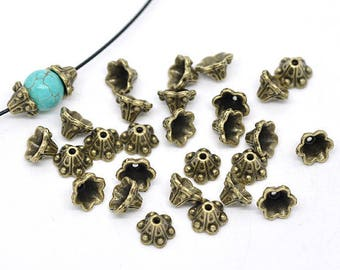 Package includes 10 cups 10 X 5 mm flowers