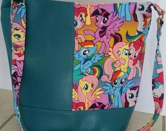 My Little Pony MLP Bucket Tote Bag