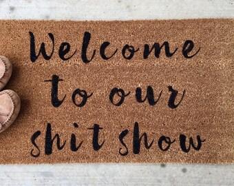 Funny Door Mat / Funny Doormat / Funny Door Mats / Funny Door Mats / Welcome