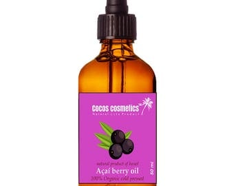 Mothers Day Gift / Acai Oil  / Acai Berry Oil / Pure Acai Oil / Brazilian skin and hair care / Amazon Acai Oil