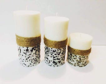 Coffee Beans Candles set