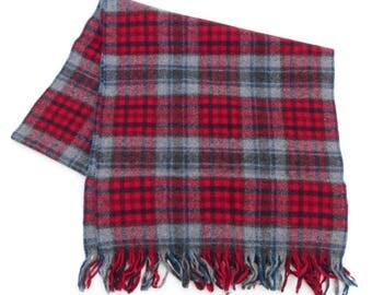 Pendleton vintage pure virgin wool scarf, made in the U.S.A.