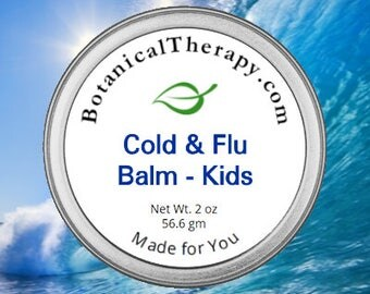 Cold and Flu Balm - For Kids