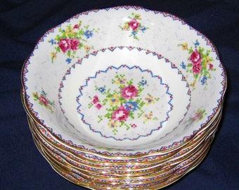 Royal Albert - Petit Point - Fruit Bowls (6)