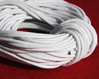 COLOR WHITE DIAMETER 2 MM JEWELRY MAKING WIRE 2M
