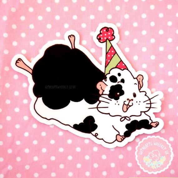 Guinea Pig Sticker Vinyl Sticker Decal Sticker