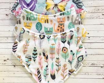 Baby Gift Set, 3 Dribble Bibs, Baby Shower Gift