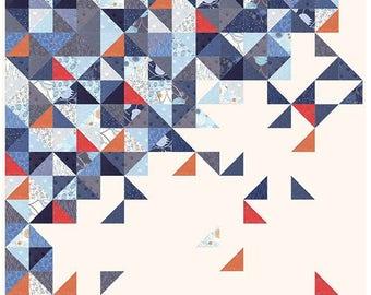 THROWING- Quilt Pattern by Zen Chic - ZC TRQP