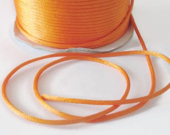 10 meters wire tail orange nylon rat 2mm