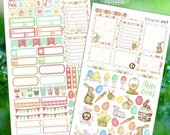 RETIRING SALE! 75% OFF | Happy Bunny!  Planner Stickers