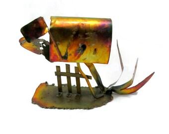 Vintage Copper Decorative Mailbox