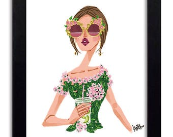Dolce and Gabbana - Fashion Illustration Print Fashion Print Fashion Art Fashion Wall Art Fashion Poster Fashion Sketch Illustration Print